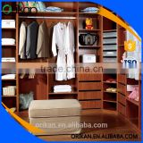 Factory price Bake lacquer cheap bedroom closet wood wardrobe cabinets