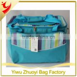 600D Polyester 3MM Cotton Foam and PEVA Cooler Bags with Adjustable Shoulder Straps and Handles