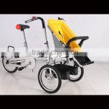 2016 new products two wing flyer seat bike baby stroller big wheel