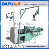 Fully auto chain link metal fence posts machine