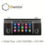 Ownice C300 quad core car dvd GPS NAVI player for BMW E39 X5 M53 support Bluetooth stereo steering wheel control