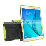 Light TPU PC rugged tablet case with built-in kickstand for Samsung Galaxy Tab A 9.7 inch Tab 5 T550 T555 case cover