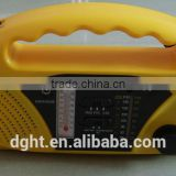 Direct Manufacturer Dynamo Radio your Hand Solar Dynamo Radio hand crank led lantern with fm radio