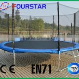 13FT hot model spring fly bed trampoline for sale with three colors model SX-FT(E)13