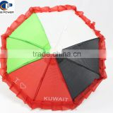 Custom Promotional Products Super Mini Size Toy Umbrella with Kuwait Country Flag Color Pattern