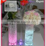Round&square led table centerpiece light base candle holder light base for decoration