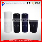 coloured ceramic shot glass