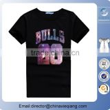 High quality sublimation cotton mens t shirts with wholesale price/round neck sport t shirts