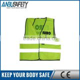 Construction Work 100 cotton safety vest with logo