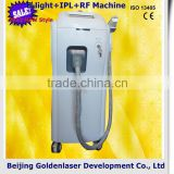 www.golden-laser.org/2013 New style E-light+IPL+RF machine absorbent cotton bleaching machine