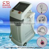 Improve Flexibility 5 In 1 Beautifying Anti Aging Face Machine(e-light/laser/rf/cavitation/ipl) Bikini Hair Removal