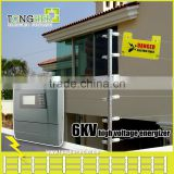 High voltage electric shock intelligent wall top security fence energizer with alarm