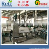 twin-screw die-face hot cutting wpc pelletizing line