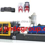 JD12800X plastic chair table car toy pallet plastic injection molding machine from ningbo jinde