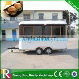 Electric engine steel mobile hot dog food bus for price/food truck