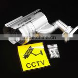 Cheap Solar Realistic Looking Fake Camera, Waterproof Dummy Security CCTV Camera For Wholesale