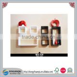 2015 hotsale MDF wooden wall cube shelf
