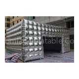 Customized Sliver Large Inflatable Tent , Outdoor Inflatable Party Tent