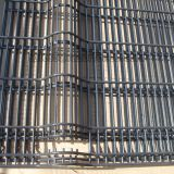 High security Airport garden coated 358 mesh prison fencing