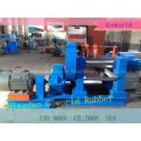 Two Rollers Open Rubber Mixer / open rubber mixing mill machine in Qingdao Goworld