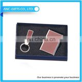 New landscape tourist souvenir aluminum business card holder with gift box