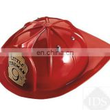 Boys plastic toy with high qualtiy hot sale custom hats fireman helmet CH2099