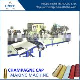 plastic champagne bottles cap making machine
