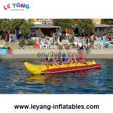 Double tube inflatable banana boat towable / inflatable water banana boat