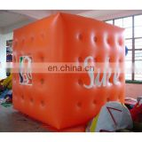 Inflatable PVC balloon/helium balloon/promotional balloon/ PVC advertising balloon/helium cube/sphere/event ball/blimp