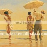 Jack Vettriano beach love Handmade Oil Painting