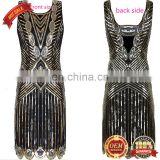 BestDance 1920'S style gatsby vintage look sexy sequins flapper dress OEM