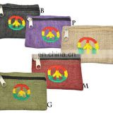 Rasta peace coin purse