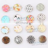 handmade zinc alloy snap jewelry snap button charms