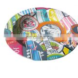 fashion metal tin ashtrays,cute style,convenient carry,cute design