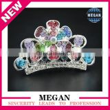 High Quality Baby Tiara Princess Wearing Crown With Comb For Kids