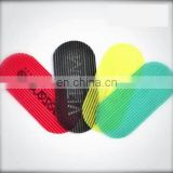 Logo printed custom shape hair gripper,hair accessories for barber