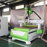 Linear type ATC CNC wood router machine with 9KW spindle&servo motor  for wood furniture door cabinet making