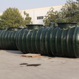 FF FRP buried double-wall oil storage tank double-wall automatic alarm