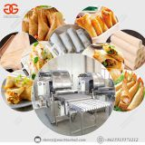 Automatic Lumpia Spring Roll Wrapper Crepe Maker Injera Making Machine
