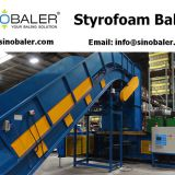 Styrofoam Baler Machine