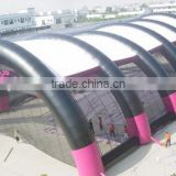 Large type inflatable tennis tent inflatable air tube tent arch type tent inflatable for sale