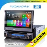 Erisin ES1088M Win8 UI 1 Din 7 Inch Car DVD GPS Car Stereo