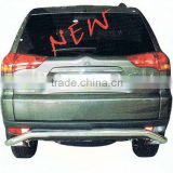 REAR BUMPER GUARD FOR MITSUBISHI PAJERO SPORT 2011 ON