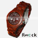 Analog Casual Wood Watch Wooden Wristwatch Bangle Collection Gift