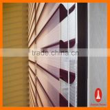 Shangri-la Double Layer Roller Blinds Window Curtain Rod Curtain Tape