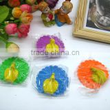 Peacock toy eraser can be Removable Student prize gift using print decoration factory manuacture