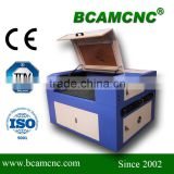 BCJ6090 wood laser engraver and cutting machine with water cooling system