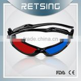 China wholesale cheap Promotional Plastic Polarized Film Reald 3D Glasses for Theater                                                                         Quality Choice