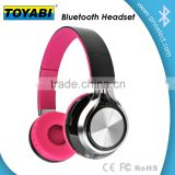 2015 new LED Flash Headset premium sound Wireless Digital Headphone with FM Radio in-ear TF card play music headphone