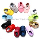 Wholesale Colorful Casual Leather Shoes Children Infant Shoes Handmade Pre-walker Baby Shoes                                                                         Quality Choice